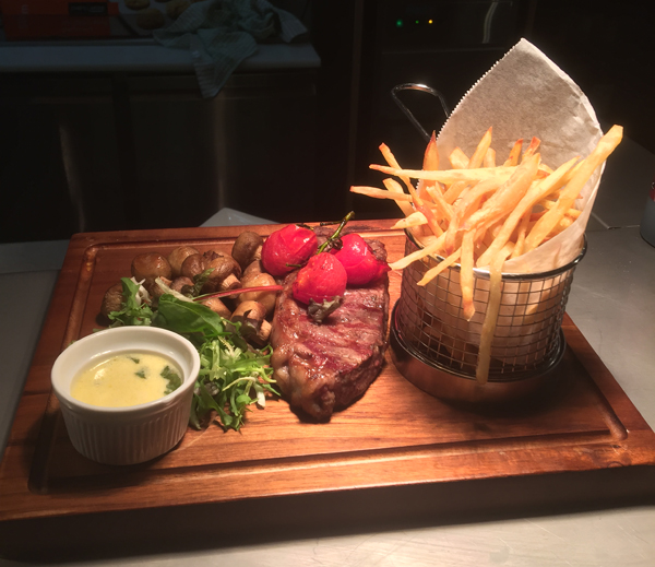Sirloin Steak with Garlic Butter Sauce - Cooked to your liking!