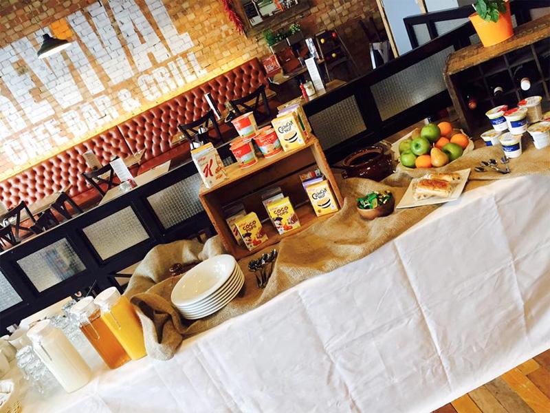 Breakfast Buffet Cheltenham