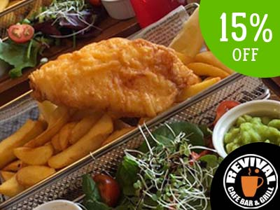 cod and chips offer
