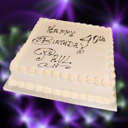 Homemade Birthday Cake Cheltenham