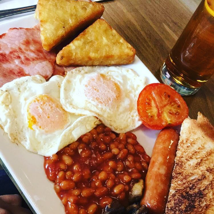 All Day Cooked Breakfast