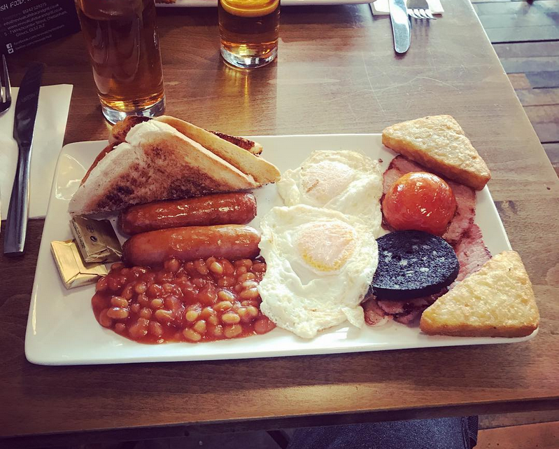 Best Cooked Breakfast in Cheltenham