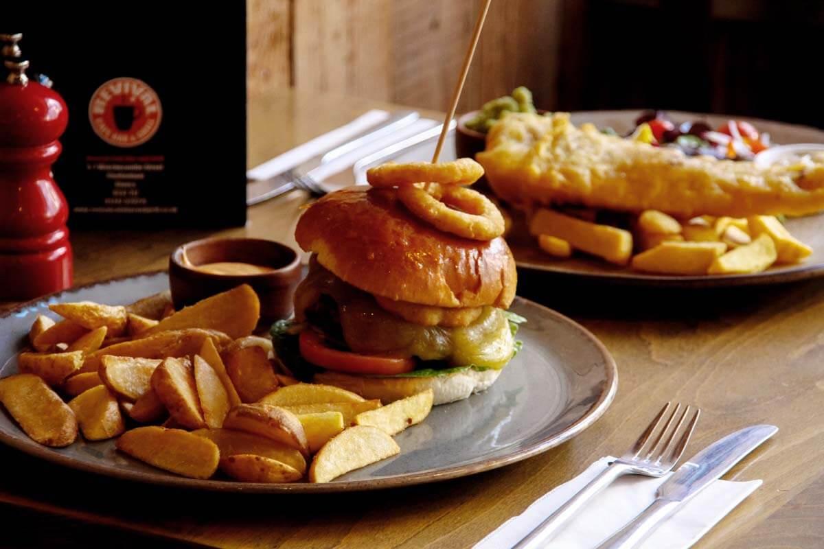 burger and chips cheltenham