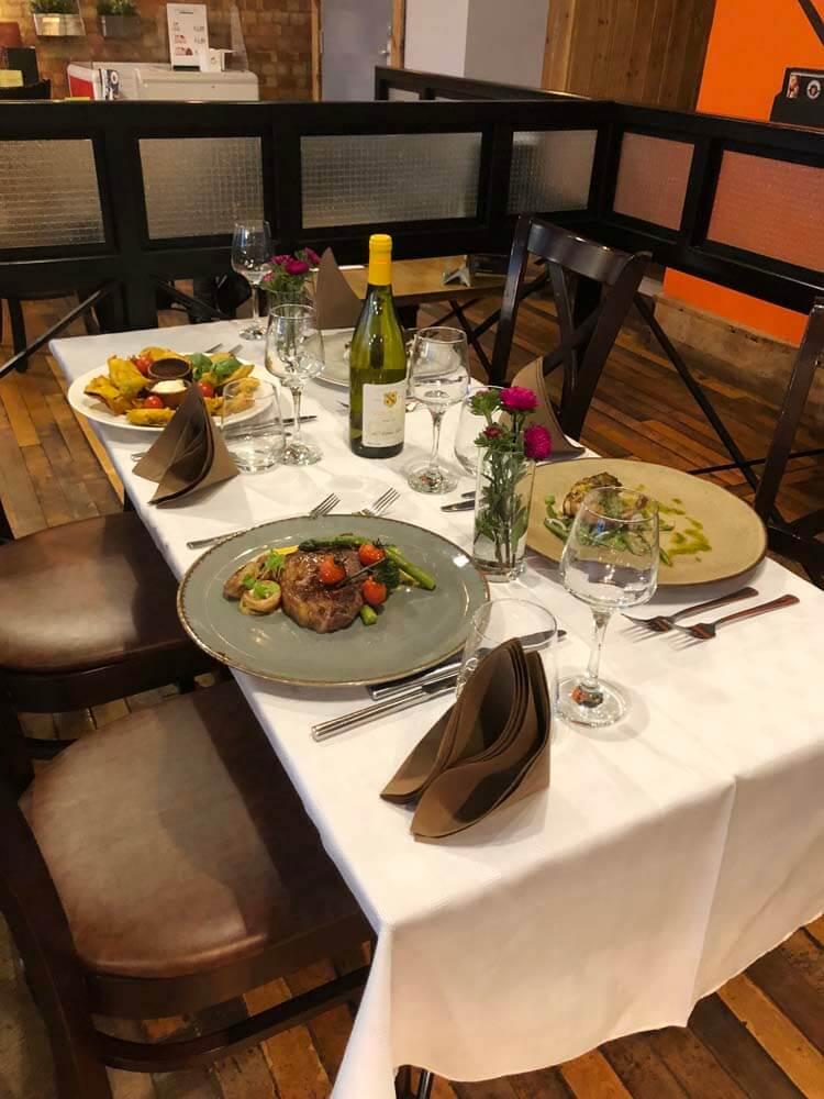 restaurant cheltenham town centre